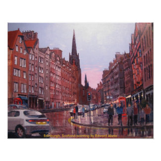 Scotland, Edinburgh Poster