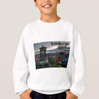 Scotland Edinburgh skyline (St.K) Sweatshirt