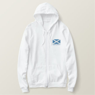 Scotland Embroidered Hoodie