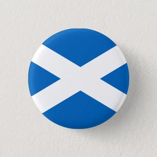 Scotland Flag 3 Cm Round Badge
