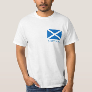 Scotland Flag and Lion Rampant T-shirt