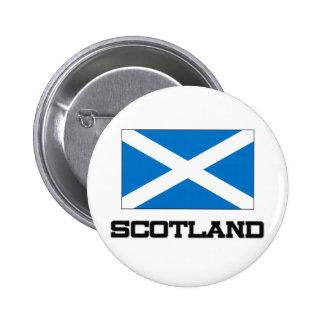 Scotland Flag 6 Cm Round Badge