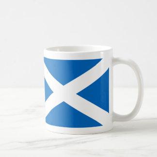 Scotland flag basic white mug