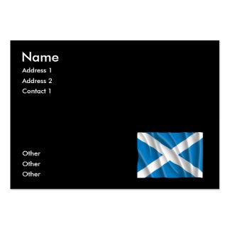 SCOTLAND FLAG BUSINESS CARDS
