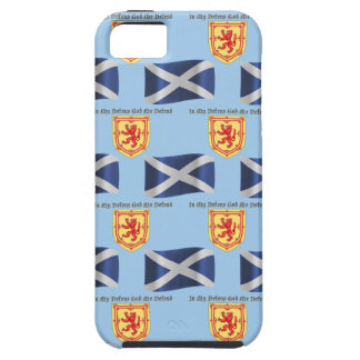 Scotland Flag, Crest and Motto iPhone 5 Cover