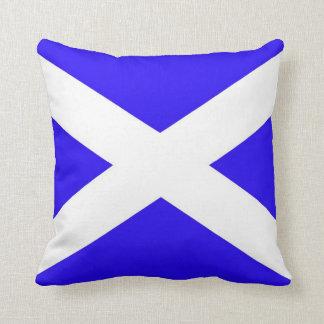 Scotland flag. pillows
