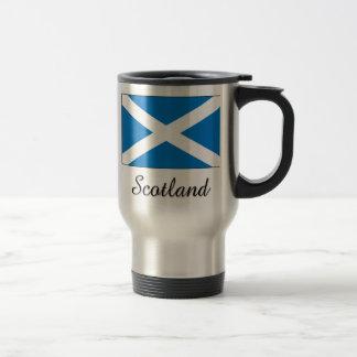 Scotland Flag Design Coffee Mugs