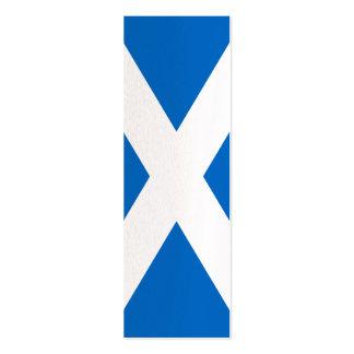 Scotland Flag Design Pack Of Skinny Business Cards