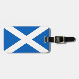 Scotland Flag Luggage Tag