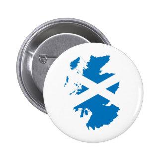 Scotland Flag Map full size Pin