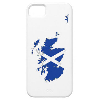scotland flag map united kingdom country shape iPhone 5 cases