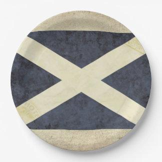 Scotland Flag Paper Plates