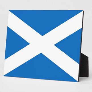 Scotland Flag Plaque