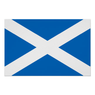 Scotland Flag Print