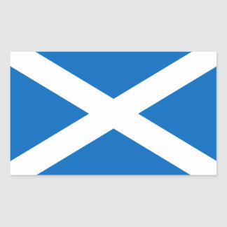 Scotland Flag Rectangular Sticker
