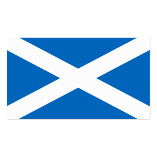 Scotland Flag - Scottish Flag Souvenir Pack Of Standard Business Cards