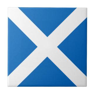 Scotland Flag - Scottish Flag Souvenir Tile