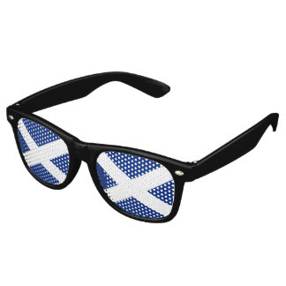 Scotland Flag - Scottish Saltire Retro Sunglasses