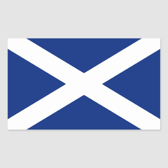 Scotland Flag - Scottish Saltire Stickers