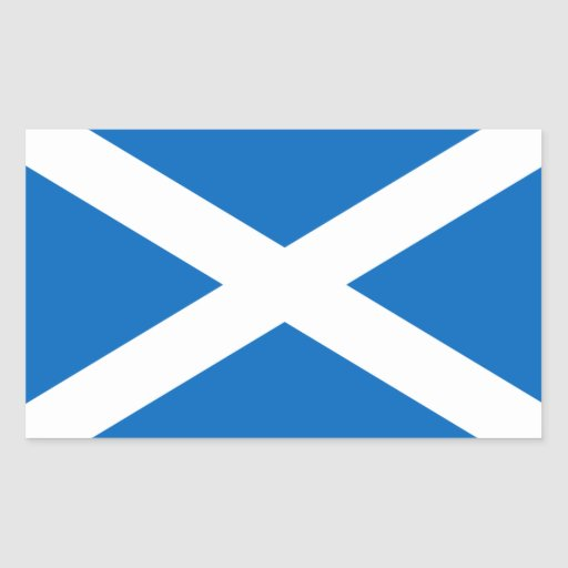 Scotland Flag Sticker