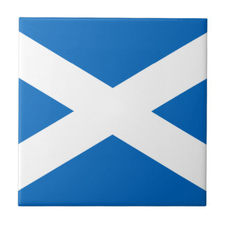Scotland Flag Tile