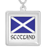 Scotland Flag & Word