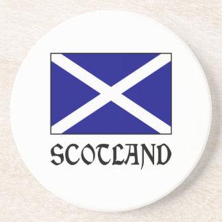 Scotland Flag & Word Coaster