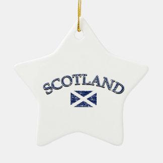 Scotland football design christmas ornament