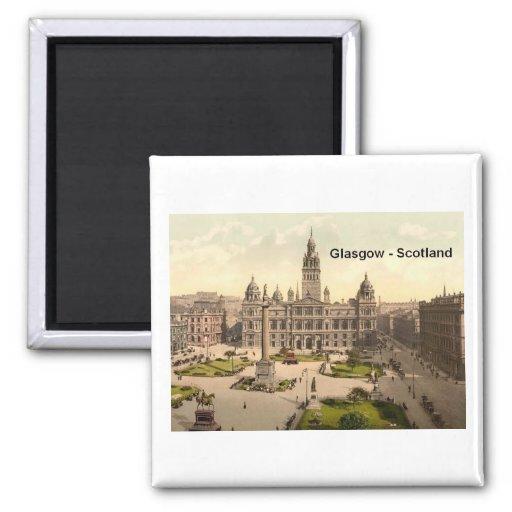 Scotland Glasgow George Square (St.K.) Fridge Magnets