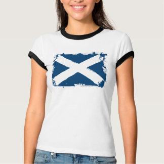 Scotland Grunge Flag T-Shirt