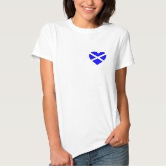 Scotland heart design t-shirt or sweatshirt
