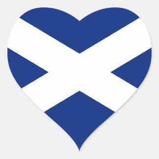 Scotland Heart Sticker