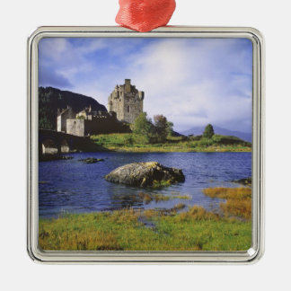 Scotland, Highland, Wester Ross, Eilean Donan 2 Christmas Ornament