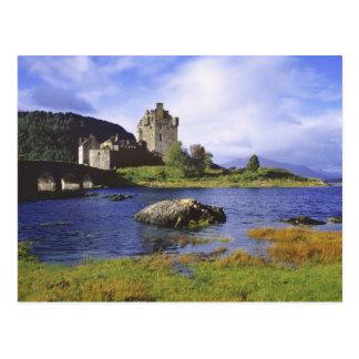Scotland, Highland, Wester Ross, Eilean Donan 2 Post Card