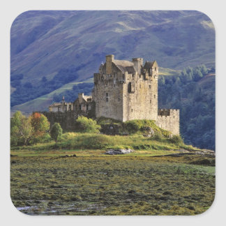 Scotland, Highland, Wester Ross, Eilean Donan 3 Square Sticker