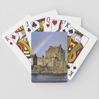 Scotland, Highland, Wester Ross, Eilean Donan Playing Cards
