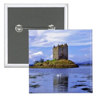 Scotland, Highland, Wester Ross, Loch Linnhe. A 15 Cm Square Badge