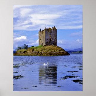 Scotland, Highland, Wester Ross, Loch Linnhe. A Poster