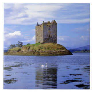 Scotland, Highland, Wester Ross, Loch Linnhe. A Tile