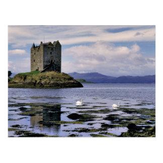 Scotland, Highland, Wester Ross, Stalker Postcard