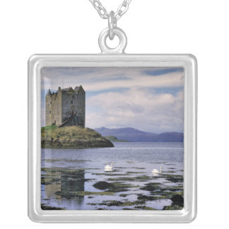 Scotland, Highland, Wester Ross, Stalker Silver Plated Necklace