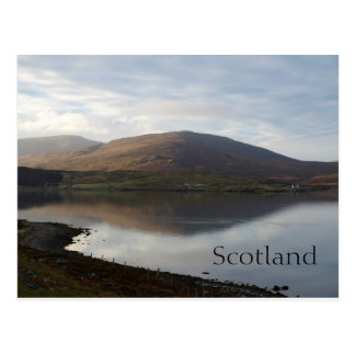 Scotland highlands landscape postcard