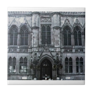 Scotland Inverness Building Art1 snap-41158  jGibn Small Square Tile