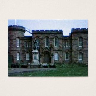 Scotland Inverness Castle Art snap-37689a  jGibney Business Card