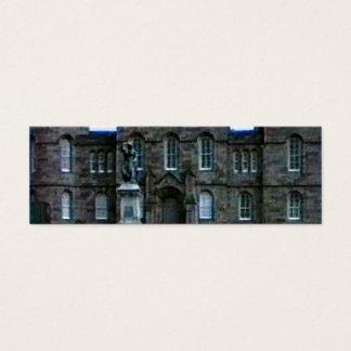 Scotland Inverness Castle Art snap-37689a  jGibney Mini Business Card