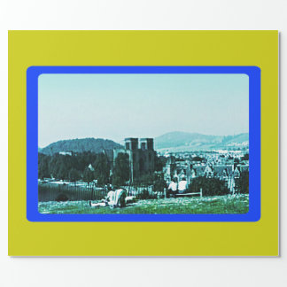 Scotland Inverness Castle Art snap-38784  jGibney Wrapping Paper