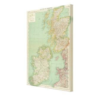 Scotland, Ireland Canvas Print