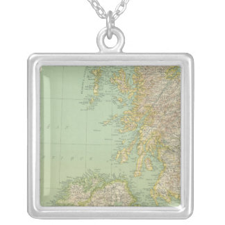 Scotland, Ireland Silver Plated Necklace
