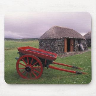 Scotland, Isle of Skye, Kilmuir. Rural landscape Mouse Pad