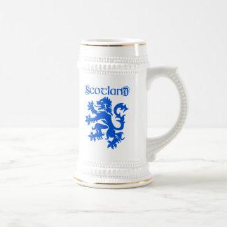 Scotland Lion Rampant Emblem Beer Stein